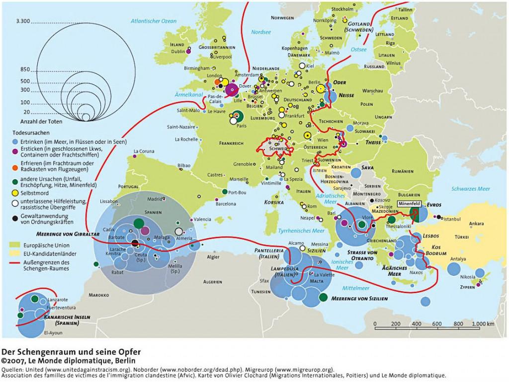 Der Schengenraum und seine Opfer