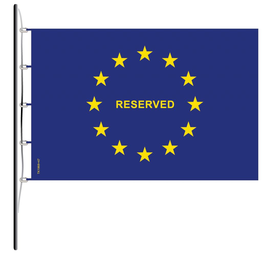 Flag of Europe Reserved TK1968+