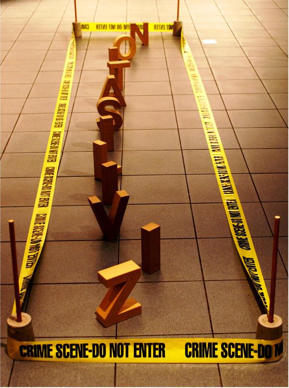 TK1968+42 Zivilisation Crime Scene Do Not Enter