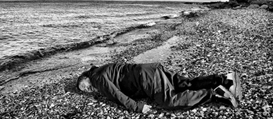 Ai Weiwei - I'm Aylan Kurdi (cropped)